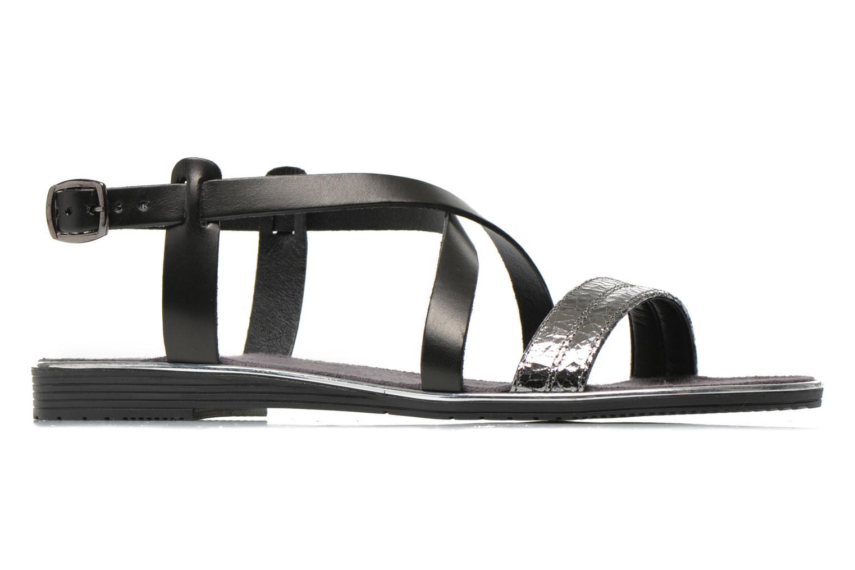 Sandales et nu-pieds Tamaris Lucinda Noir vue derrière
