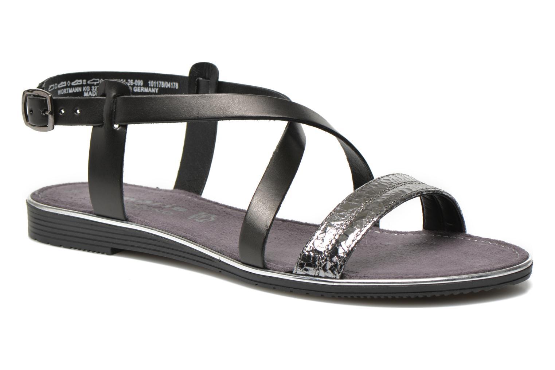 Sandales et nu-pieds Tamaris Lucinda Noir vue détail/paire
