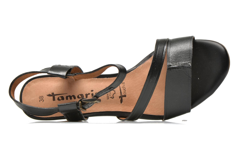 Sandales et nu-pieds Tamaris Mosuly Noir vue gauche