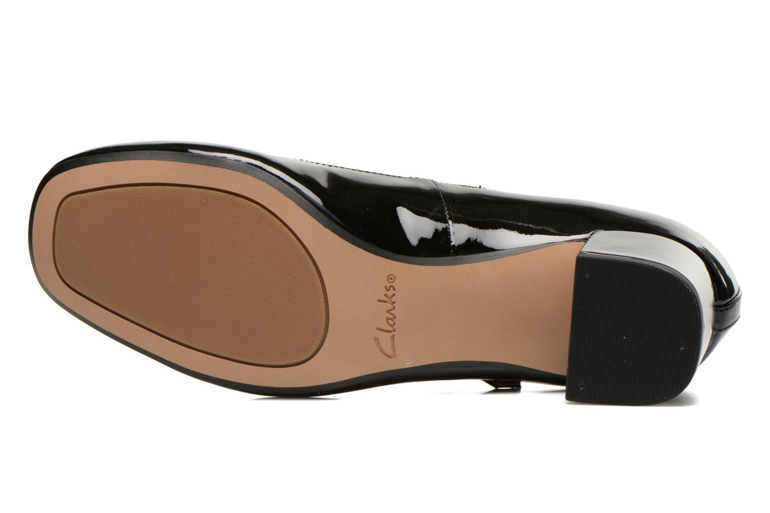 Escarpins Clarks Chinaberry Pop Noir vue haut