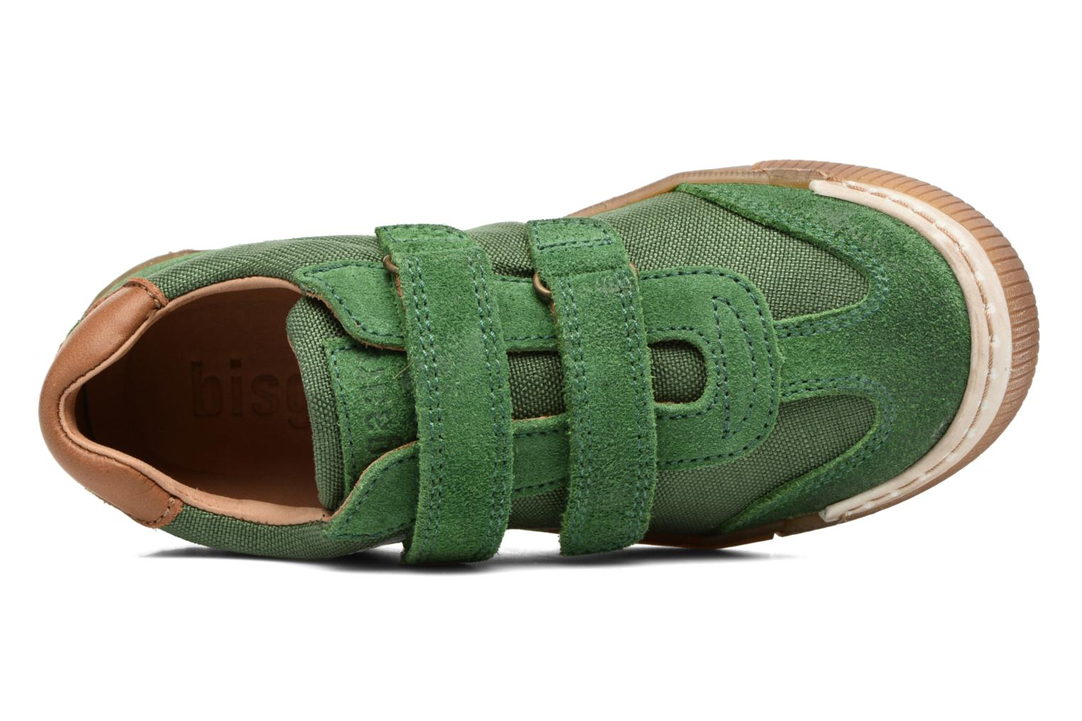 Trainers Bisgaard Christiansen Green view from the left