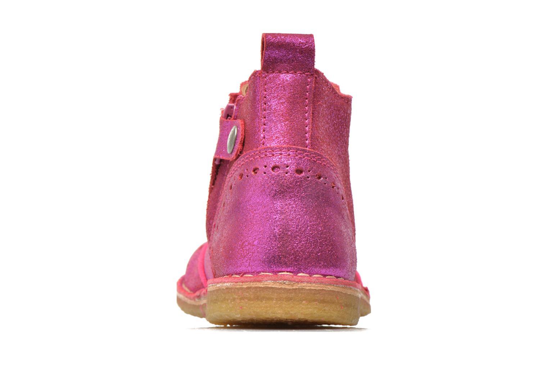 Bottines et boots Bisgaard jetty Rose vue droite