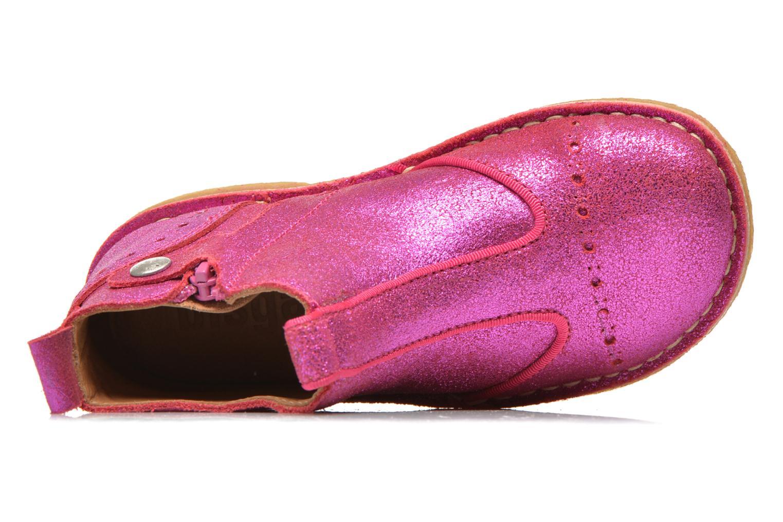 Bottines et boots Bisgaard jetty Rose vue gauche