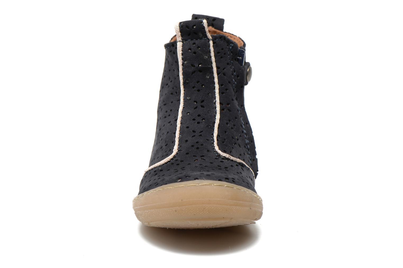 Bottines et boots Bisgaard Anndrea Bleu vue portées chaussures