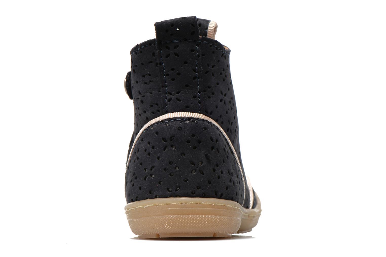Bottines et boots Bisgaard Anndrea Bleu vue droite