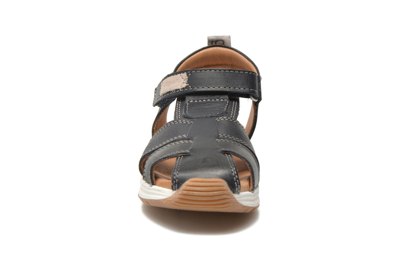 Sandales et nu-pieds Bisgaard Bent Bleu vue portées chaussures