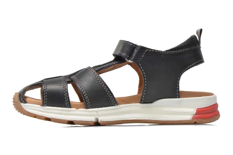 Sandales et nu-pieds Bisgaard Bent Bleu vue face