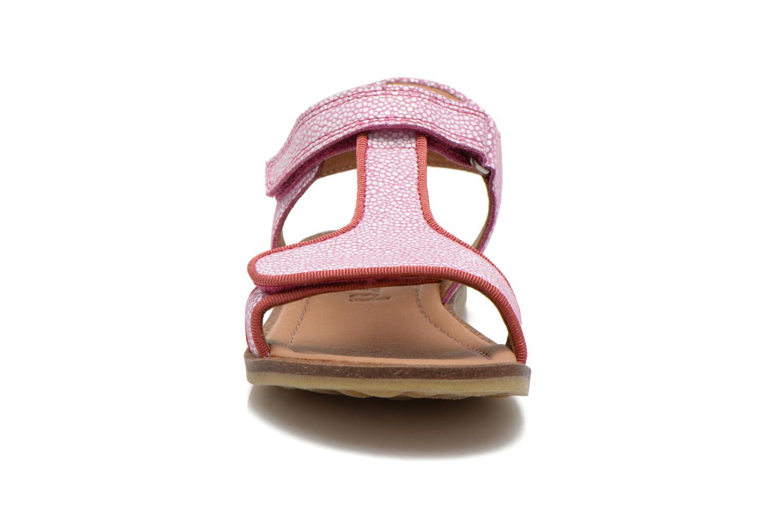 Sandales et nu-pieds Bisgaard Phoebe Rose vue portées chaussures