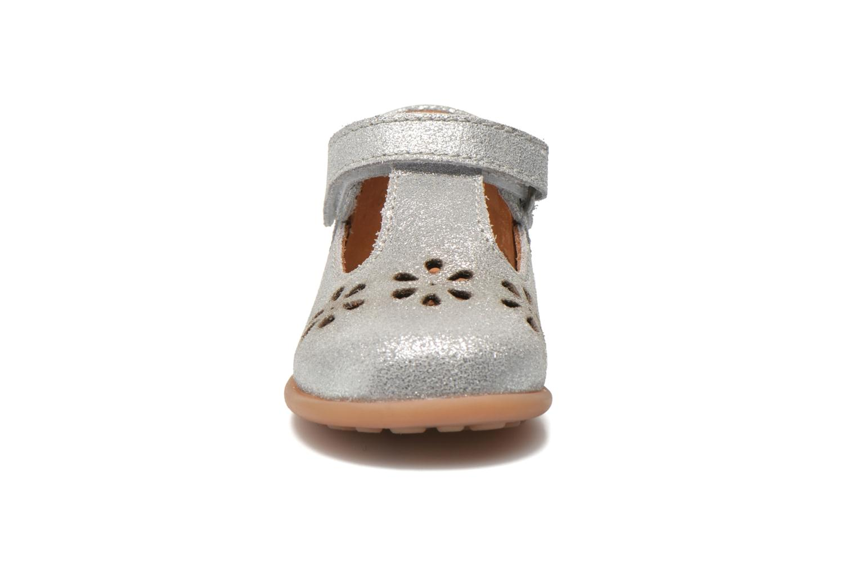 Chaussures à scratch Bisgaard Tia Argent vue portées chaussures