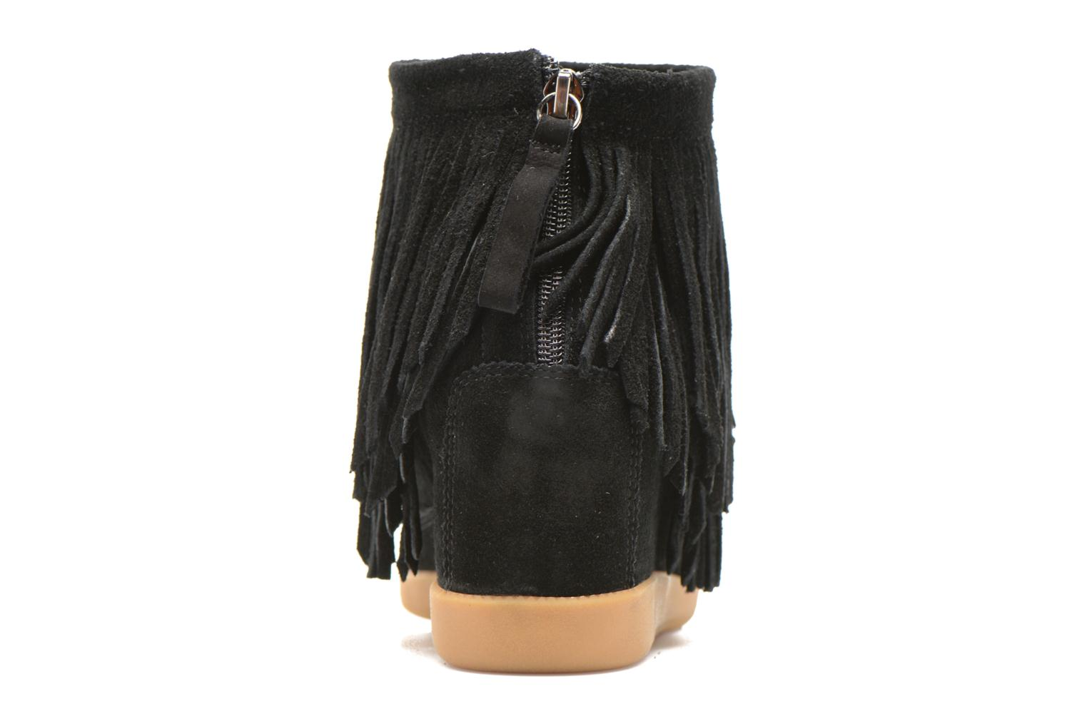 Ankle boots Shoe the bear Emmy Fringes Black view from the right