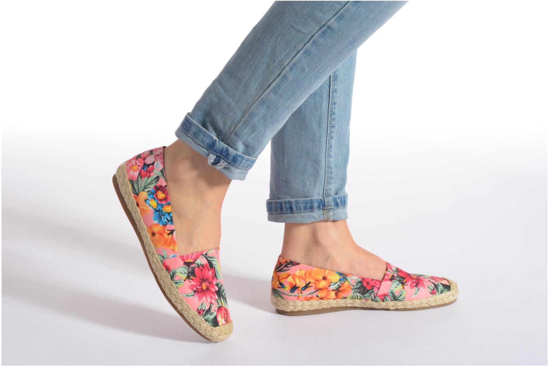 Espadrilles Shoe the bear Flower Multicolore vue bas / vue portée sac