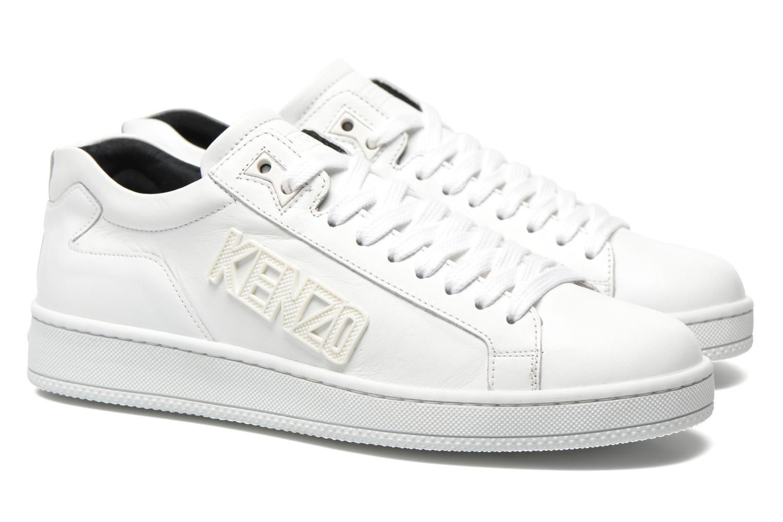 Sneakers Kenzo Tennix Vit 3/4 bild