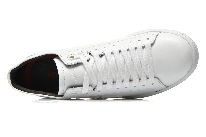 Sneaker Kenzo Tennix weiß ansicht von links