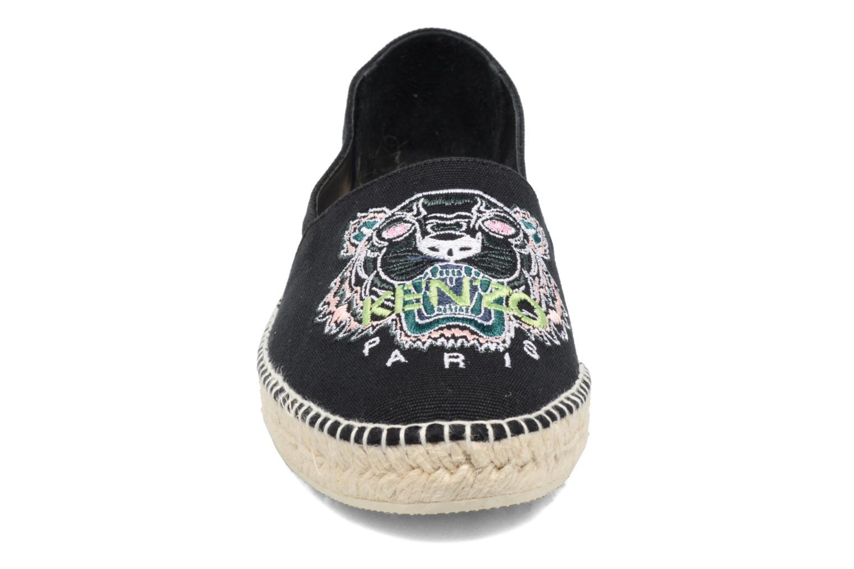 Espadrilles Kenzo Slit Noir vue portées chaussures