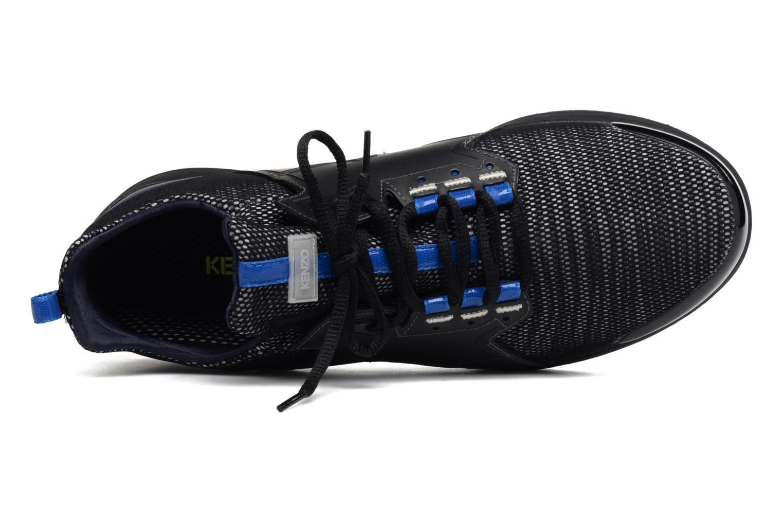 Sneaker Kenzo Ozzy schwarz ansicht von links