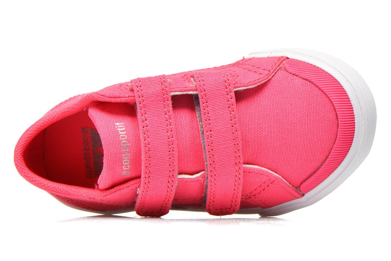 Sneakers Le Coq Sportif Saint Gaetan Inf Rosa immagine sinistra