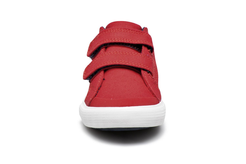 Sneakers Le Coq Sportif Saint Gaetan Inf Rosso modello indossato
