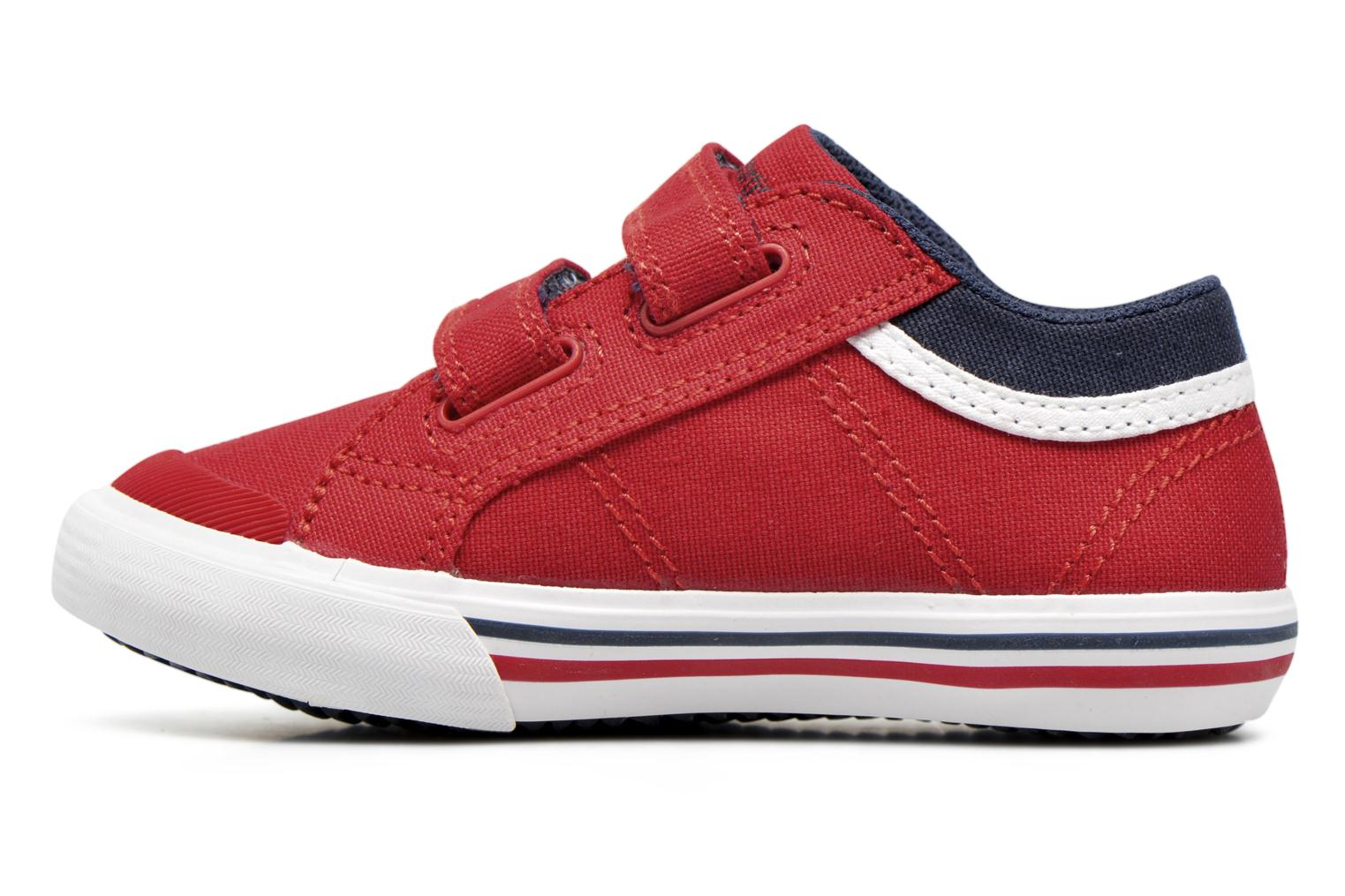 Trainers Le Coq Sportif Saint Gaetan Inf Red front view