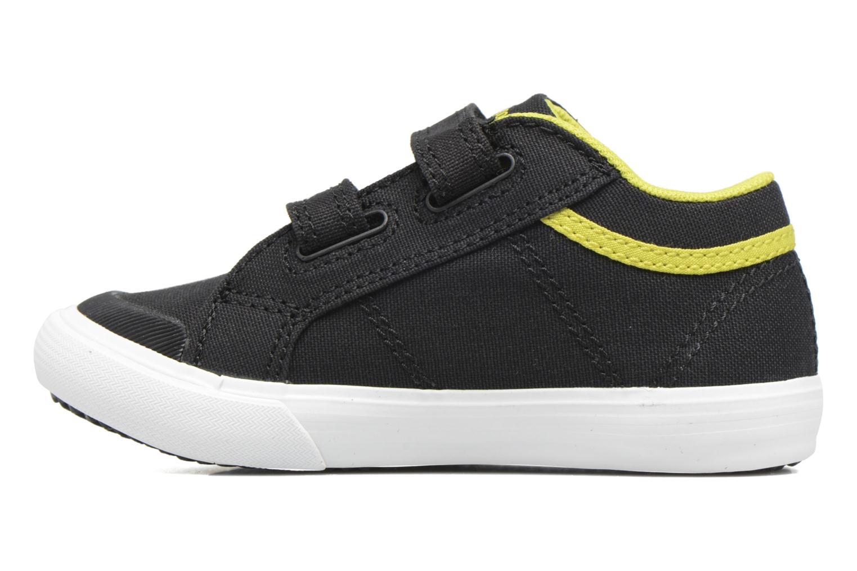 Sneakers Le Coq Sportif Saint Gaetan Inf Nero immagine frontale