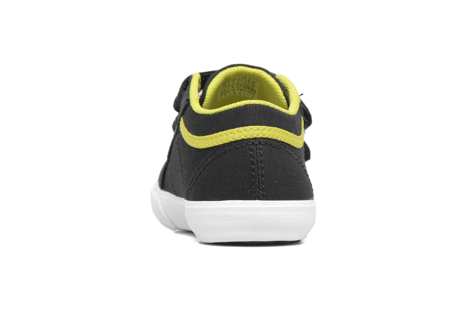 Trainers Le Coq Sportif Saint Gaetan Inf Black view from the right