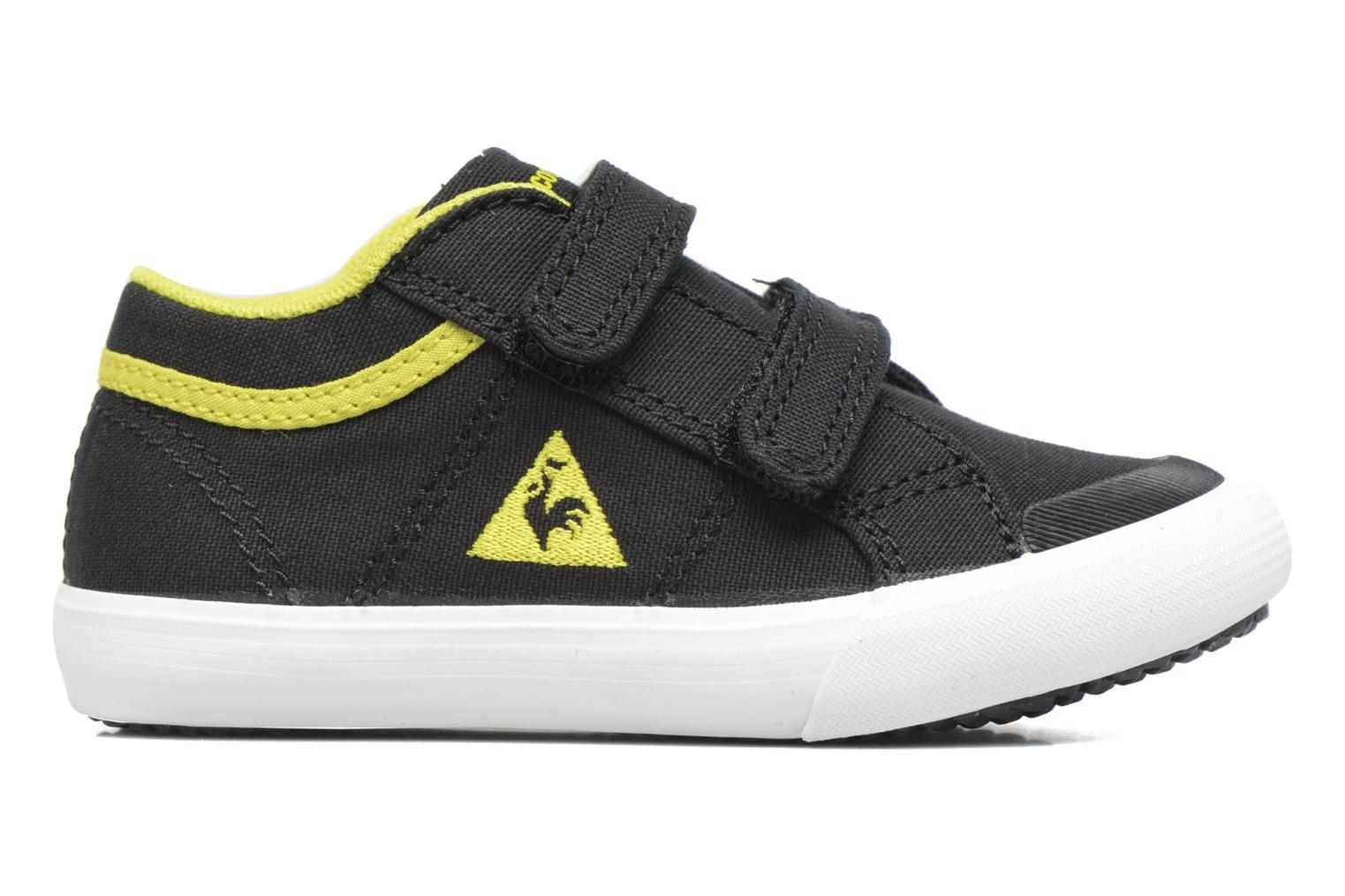 Trainers Le Coq Sportif Saint Gaetan Inf Black back view