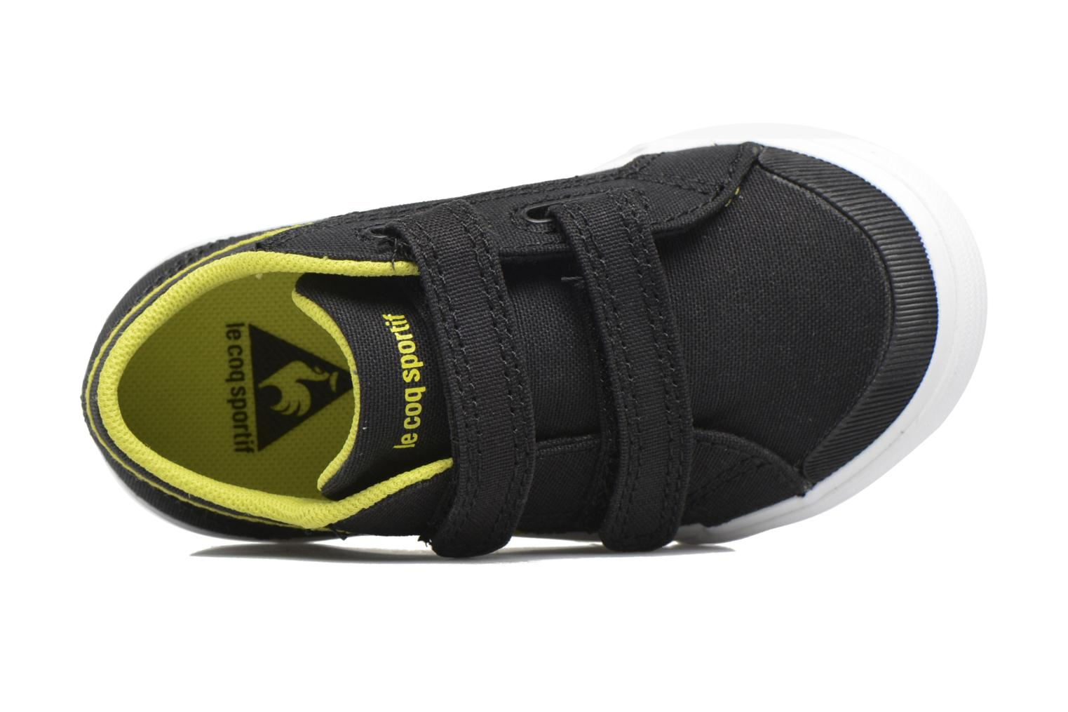 Trainers Le Coq Sportif Saint Gaetan Inf Black view from the left
