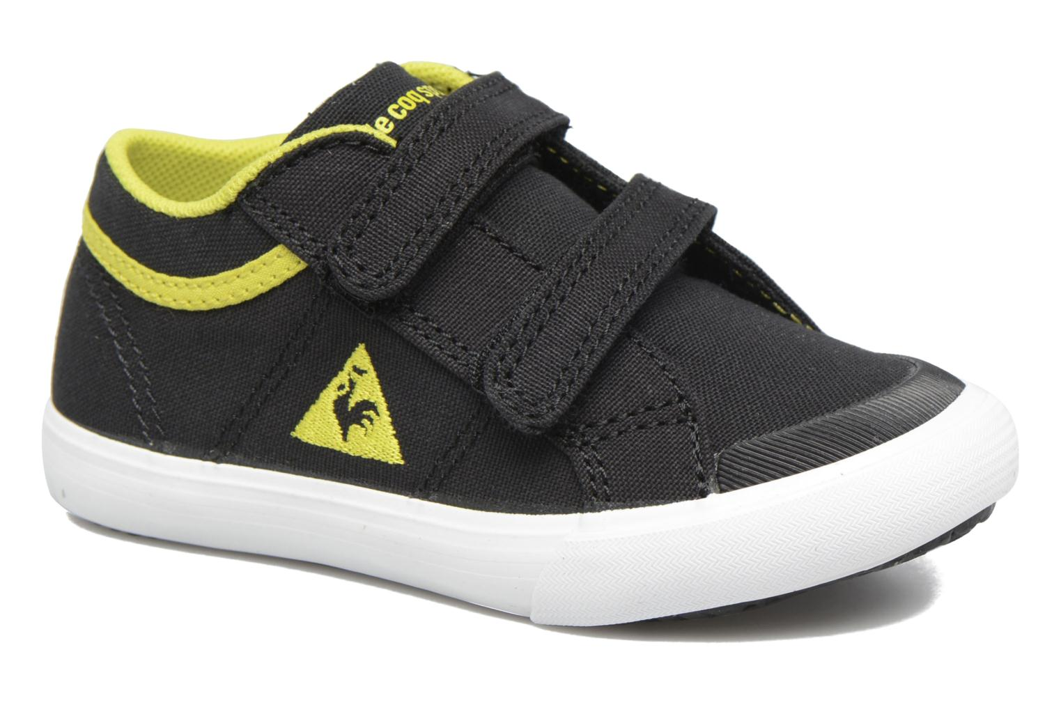 Trainers Le Coq Sportif Saint Gaetan Inf Black detailed view/ Pair view