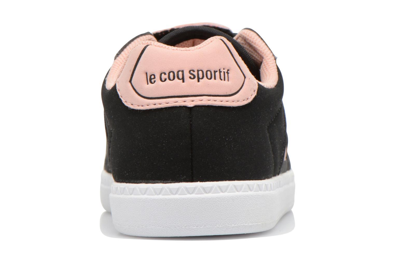 Baskets Le Coq Sportif Tacleone Inf ANIMAL Face Girl Noir vue droite