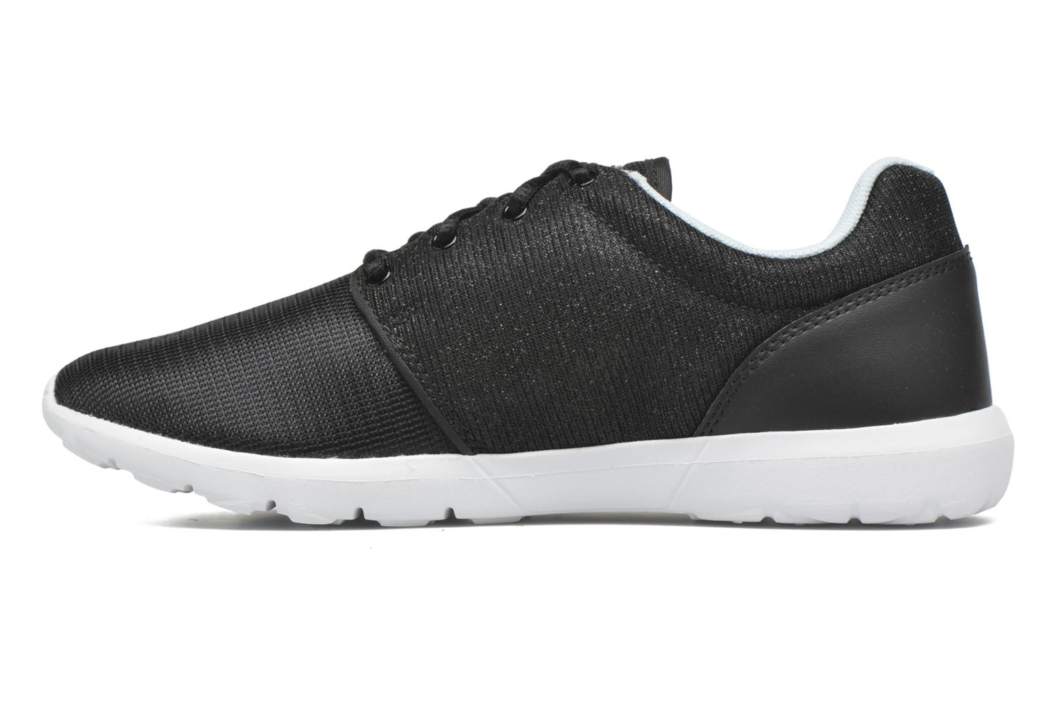 Trainers Le Coq Sportif Dynacomf GS Black front view