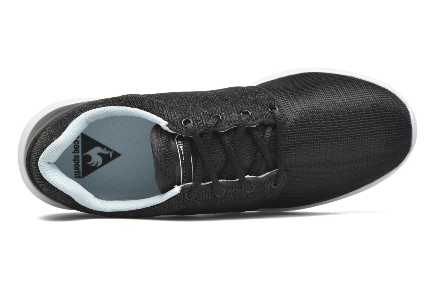 Trainers Le Coq Sportif Dynacomf GS Black view from the left