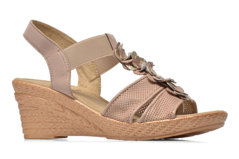 Sandales et nu-pieds Jana shoes Morana Beige vue derrière