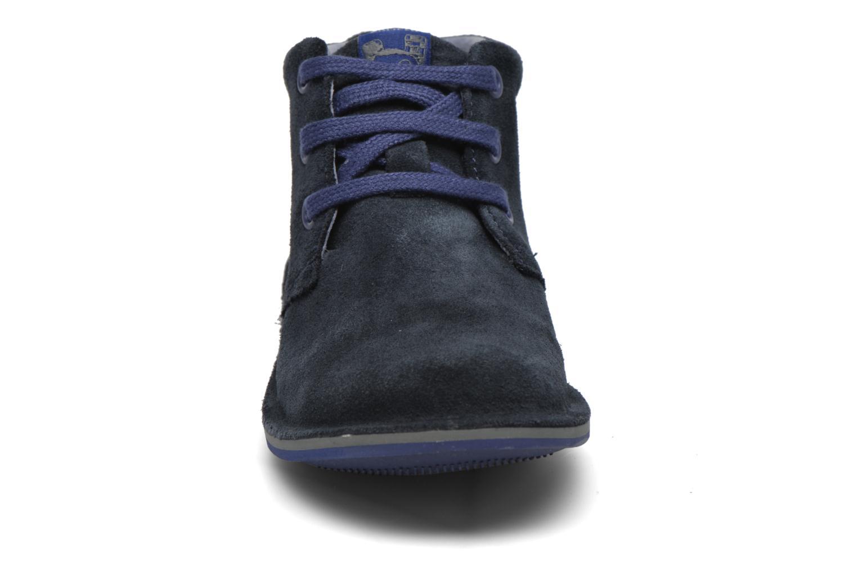 Chaussures à lacets Camper Beetle Street Kids Bleu vue portées chaussures