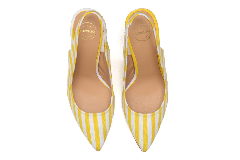 Escarpins Made by SARENZA Glaçons citrons #1 Jaune vue portées chaussures