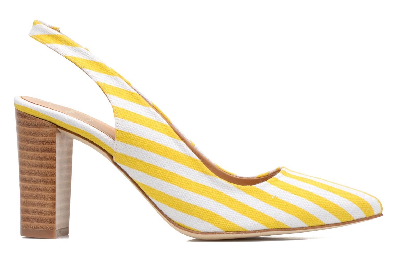 Escarpins Made by SARENZA Glaçons citrons #1 Jaune vue détail/paire