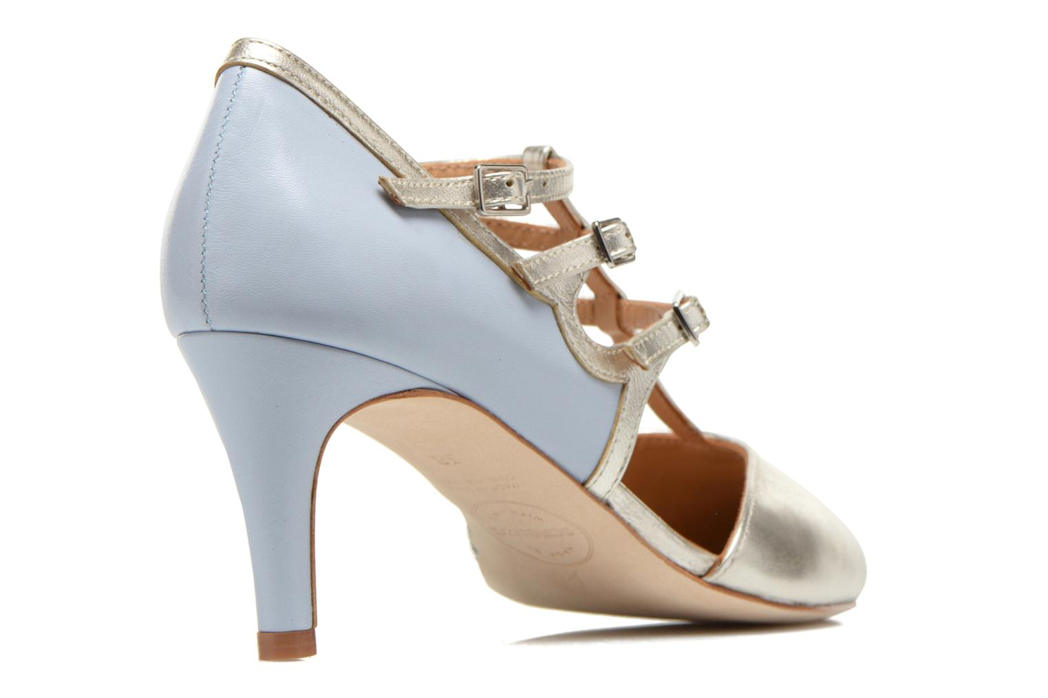Pumps Made by SARENZA Loulou au Luco #4 Blauw voorkant