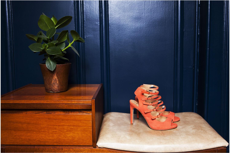 Sandales et nu-pieds Made by SARENZA Loulou au Luco #7 Orange vue 3/4