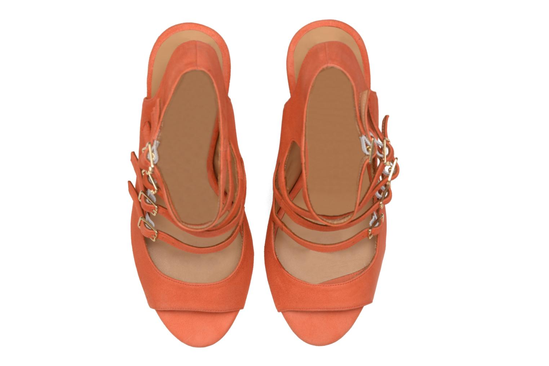 Sandales et nu-pieds Made by SARENZA Loulou au Luco #7 Orange vue portées chaussures
