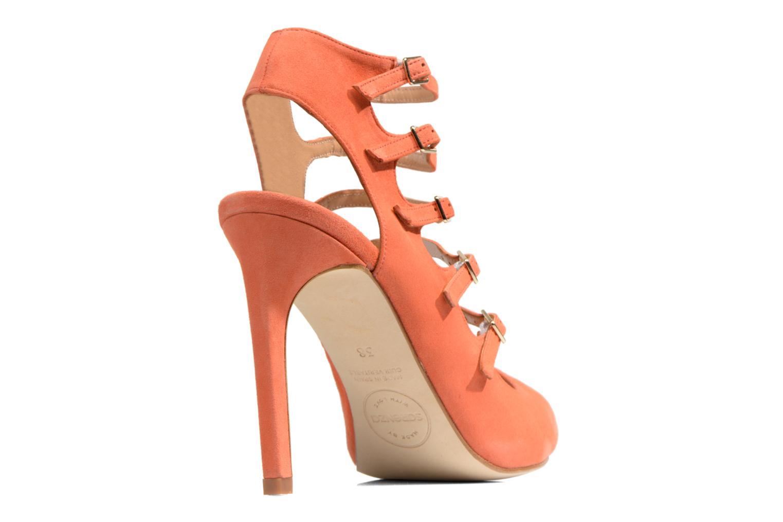 Sandales et nu-pieds Made by SARENZA Loulou au Luco #7 Orange vue face