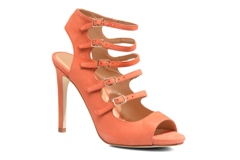 Sandales et nu-pieds Made by SARENZA Loulou au Luco #7 Orange vue droite