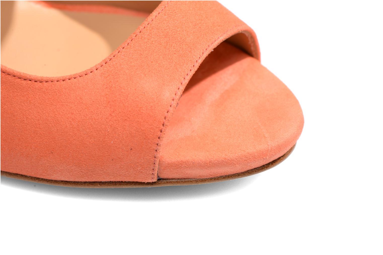 Sandales et nu-pieds Made by SARENZA Loulou au Luco #7 Orange vue gauche
