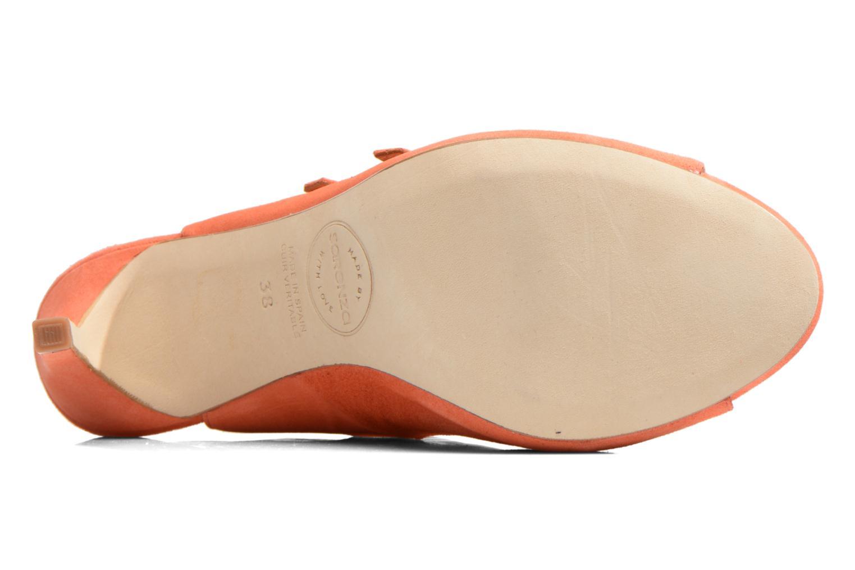 Sandales et nu-pieds Made by SARENZA Loulou au Luco #7 Orange vue haut