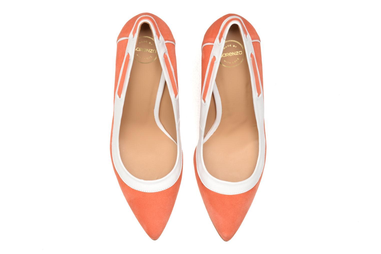 Escarpins Made by SARENZA Glaçons citrons #2 Orange vue portées chaussures
