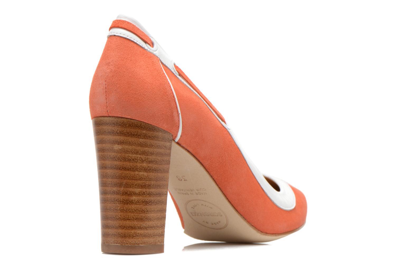 Escarpins Made by SARENZA Glaçons citrons #2 Orange vue face