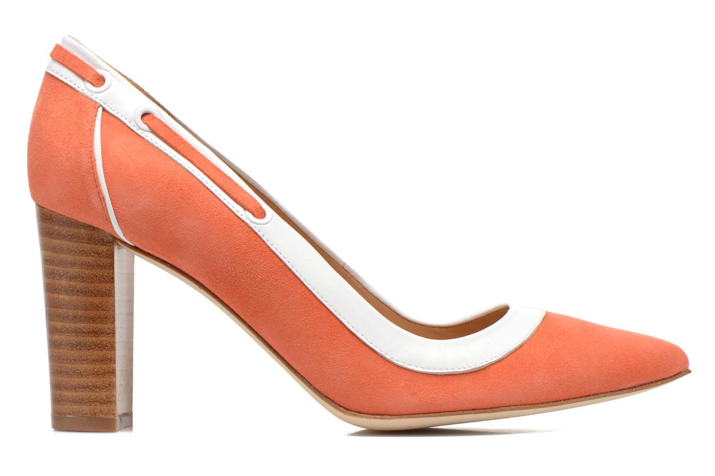 Escarpins Made by SARENZA Glaçons citrons #2 Orange vue détail/paire