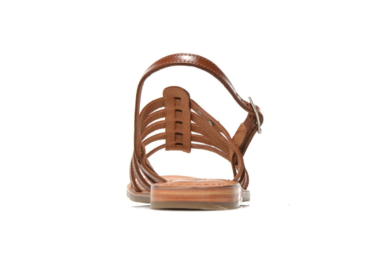 Sandales et nu-pieds Les Tropéziennes par M Belarbi Havapo Marron vue droite
