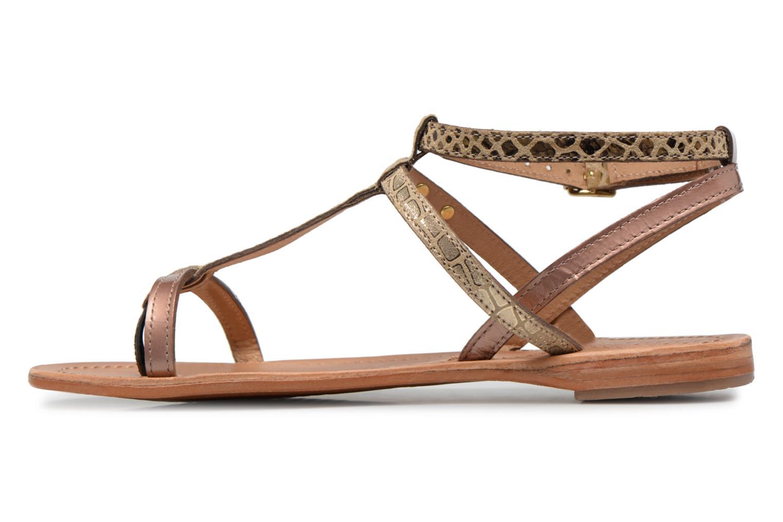 Sandaler Les Tropéziennes par M Belarbi Baie Guld og bronze se forfra