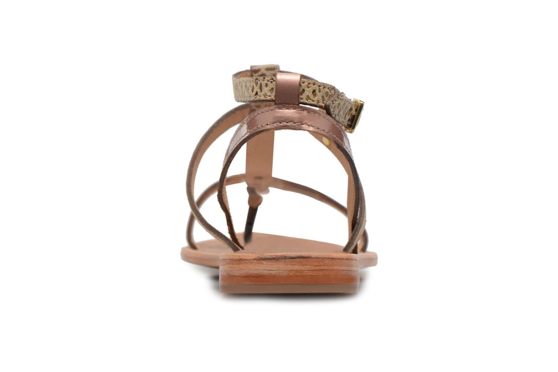Sandaler Les Tropéziennes par M Belarbi Baie Guld og bronze Se fra højre