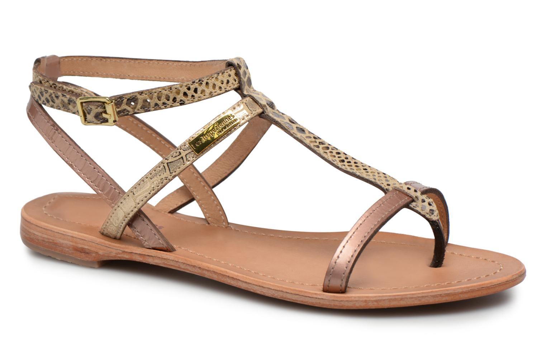 Sandaler Les Tropéziennes par M Belarbi Baie Guld og bronze detaljeret billede af skoene
