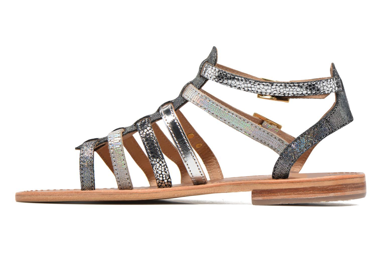 Sandales et nu-pieds Les Tropéziennes par M Belarbi Baille Gris vue face