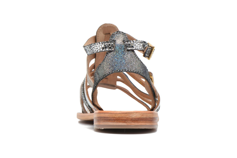 Sandales et nu-pieds Les Tropéziennes par M Belarbi Baille Gris vue droite